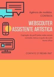 Webscouter, assistente artístico