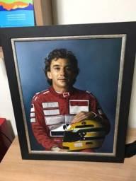 Quadros Ayrton Senna - Circuito internacional de Arte Brasileira