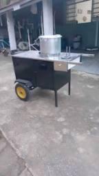 Excelente oportunidade de negócio carrinho de milho.