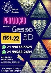 Placas de gesso 3D 1.99