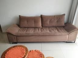 Sofa grande 3 lugares - Suede