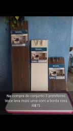 Título do anúncio: Prateleiras MDF 3+1 de brinde