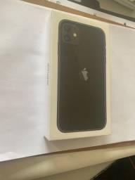 Título do anúncio: Iphone 11 preto 128g Lacrado