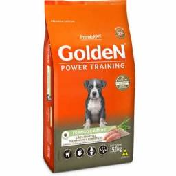Ração Seca PremieR Pet Golden Power Training Cães Filhotes Frango e Arroz - 15 K