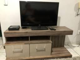 Vendo rack e tv LG 32 polegadas