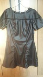 Vestido Couro Eco (Araxá - Mg)