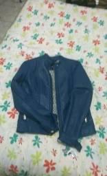 2 jaquetas couro ecológico
