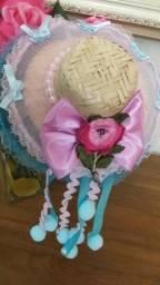 Chapéu de palha de luxo