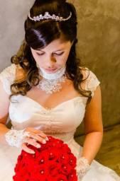 Vestido d noiva 2 em 1