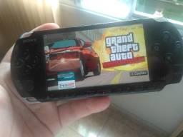 PlayStation Portable Sony Desbloqueado Recheado de Jogos