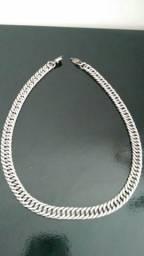 Cordão de prata italiana 114g