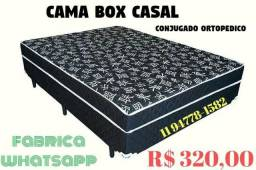 De Fábrica !!! Cama Box de Casal ortopédica NOVA no plastico Whats 11 97301-8599