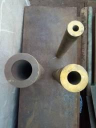 Barras de bronze