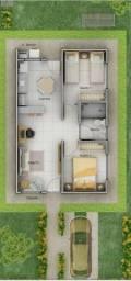 "Casa,Residencial Pequis ,2 quartos,""Ultimas Unidades"",R$128 mil"