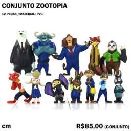 Conjunto Zootopia 12 Peças