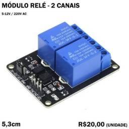 Módulo Relé - 2 Canais