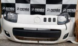 Título do anúncio: Parachoque Farol UNO Vivace Fiorino 2010 a 2014