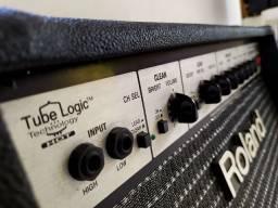 Amplificador Roland 408GC (Raridade!!!) ñ Jazz Marshall Peavey Fender Deluxe Princeton comprar usado  Rio de Janeiro