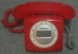 Telefone Intelbrás Vermelho