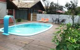 Linda Casa Florianópolis c/ piscina, 4 dorm. (até 12 pessoas)
