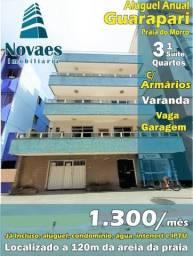 Apartamento Aluguel Anual Praia do Morro Guarapari 3 Quartos