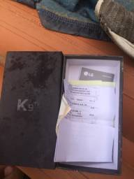 Caixa e documentação completa do Lg k9