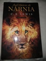 Livro As Crônicas de Nárnia C. S. Lewis comprar usado  Parnamirim