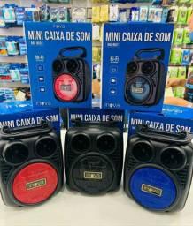 Mini Caixa de Som Inova Bluetooth/Usb