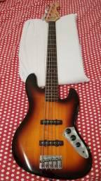 Baixo squier jazz bass 5 cordas