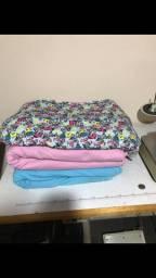 Lote de malha Cotton rosa e azul e suplex de otima qualidade. Aproveite!!