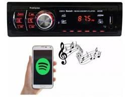 RADIO MP3 PLAYER SOM BLUETOOTH USB