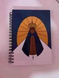 Caderno + lápis
