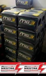 Bateria carro MG3 45 AH 45ah Gol Uno Palio Classic