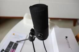 Microfone Fifine K669 USB - novo na caixa Foto Reais