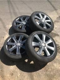 Rodas com pneus novos aro 17