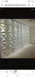 #Lindas placa gesso 3D apenas 25.00 metro quadrado