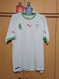 Título do anúncio: Camisa Seleção Argélia - Tamanho GG (veste M)