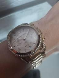 Relógio Michael Kors rosé original