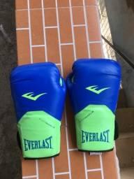 Título do anúncio: Luva e Bandagem Everlast Muay Thai