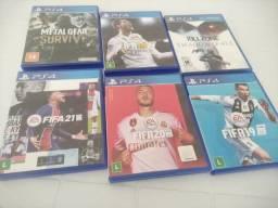 Título do anúncio: Jogos PS4