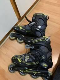 Roller patins fila seminovo