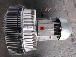 Compressor Radial Bomba de Vácuo 6,5 cv trifásico 330 mbar Busch Usado