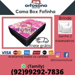 Cama Box Casal Semi Ortopédica Entrega Grátis