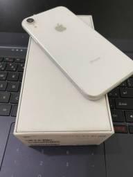Iphone xr 64gb branco bem conservado sem detalhes