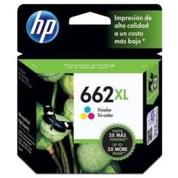Cartucho HP 662XL Colorido Original (CZ106AB)