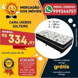 Cama Unibox Solteiro Em Oferta (Entrega Grátis)