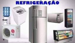 Título do anúncio: Servico em geladeira maquina de lavar micro-ondas  bebedouro ilha camara