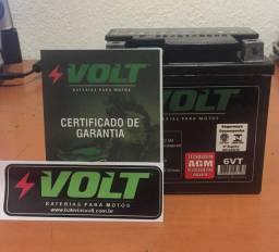 Bateria 6ah 12 volts 160 fan ESDI flex, BROS ESD,YBR 125 factor