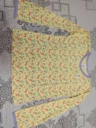 Título do anúncio: Conjunto de Pijama infantil - calça e camisa de manga