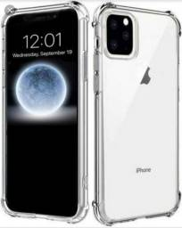 Kit capa antishock + película de vidro iPhone